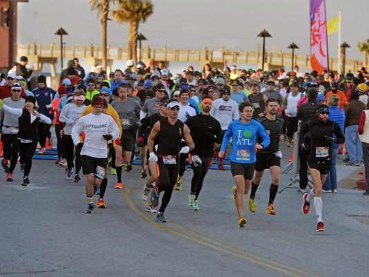 Pensacola Beach Half Marathon 1