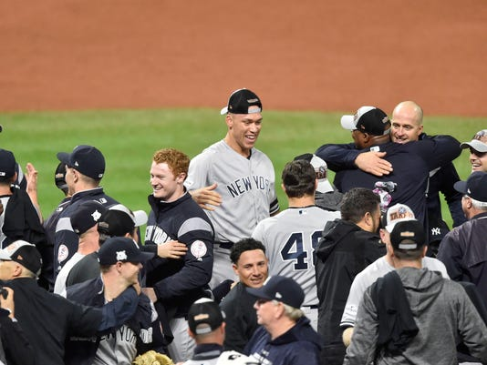 MLB ALDS New York Yankees at Cleveland Indians (5)