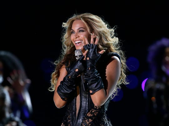 Beyonce performs during the halftime show of  Super Bowl XLVII in February.