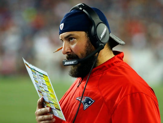 Matt Patricia is the Detroit Lions' 27th head coach