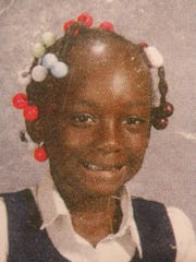School photo of  Zainabou Drame' before she was severely