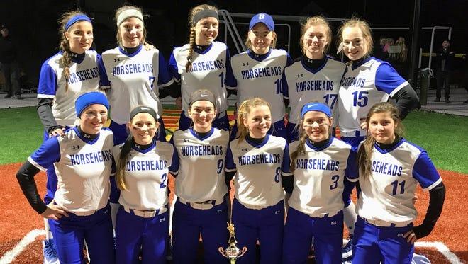 Horseheads earned the title at the Gerry Gentner Memorial Invitational at Williamsville East High School on April 21.
