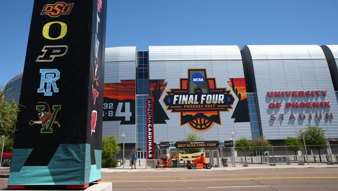 The city of Glendale has been planning to host its first NCAA Men's Final Four at University of Phoenix Stadium since 2014, and part of that planning includes organizing its Emergency Operations Center.