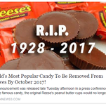 No, your Reese's Peanut Butter Cups aren't going anywhere, company says