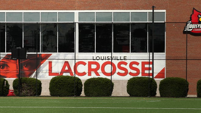 The lacrosse field at UofL.