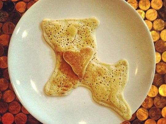 A pancake creation from the 2013 Downtown Awards. Nominations are open through Sept. 3. Voting is Oct. 1-23.