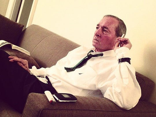 A photograph of William Eggleston by 'wexlone' is among the 192 images in '#memphisshares,' a fascinating exhibition at Memphis Brooks Museum of Art and an adjunct or response to the magnificent exhibition 'Shared Vision: The Sondra Gilman and Celso Gonzalez-Falla Collection of Photography,' displayed at the Brooks through Jan. 5. While many of the works in 'Shared Vision' are breathtaking icons of 20th century photography, the images in '#memphisshares,' on view through Jan. 12, comprise what one would expect from having perused Facebook, Pinterest, Instagram and other photo-sharing sites. Each section of the exhibit is accompanied by a key indicating the photographers' usernames, which, in most cases, disguise the real names. (Courtesy of the Brooks Museum of Art)