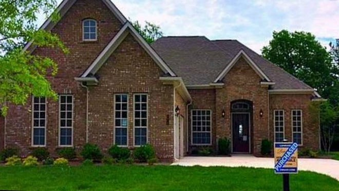This home, at 3635 Martins Mill #4014 in Thompson's Station, was built in 2016 and has 3,351 square feet.