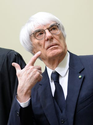 F1 boss Bernie Ecclestone was charged with bribery and incitement to breach of trust, and could face up to 10 years in prison.