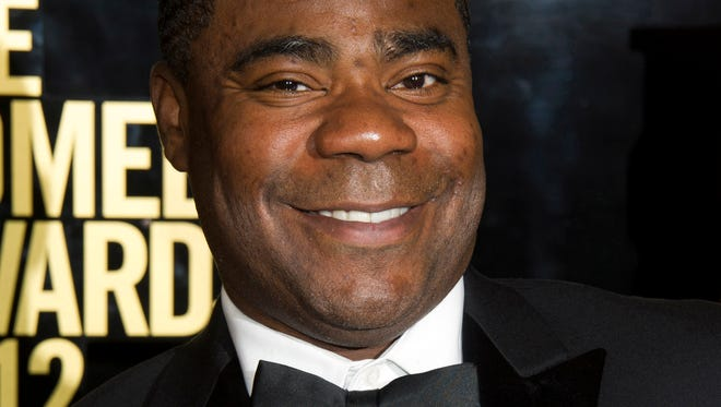 Tracy Morgan, shown in 2012, has issued a statement hitting back at Walmart.