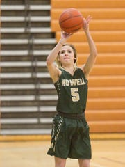 Howell's Alexis Miller averaged 18.1 points to lead