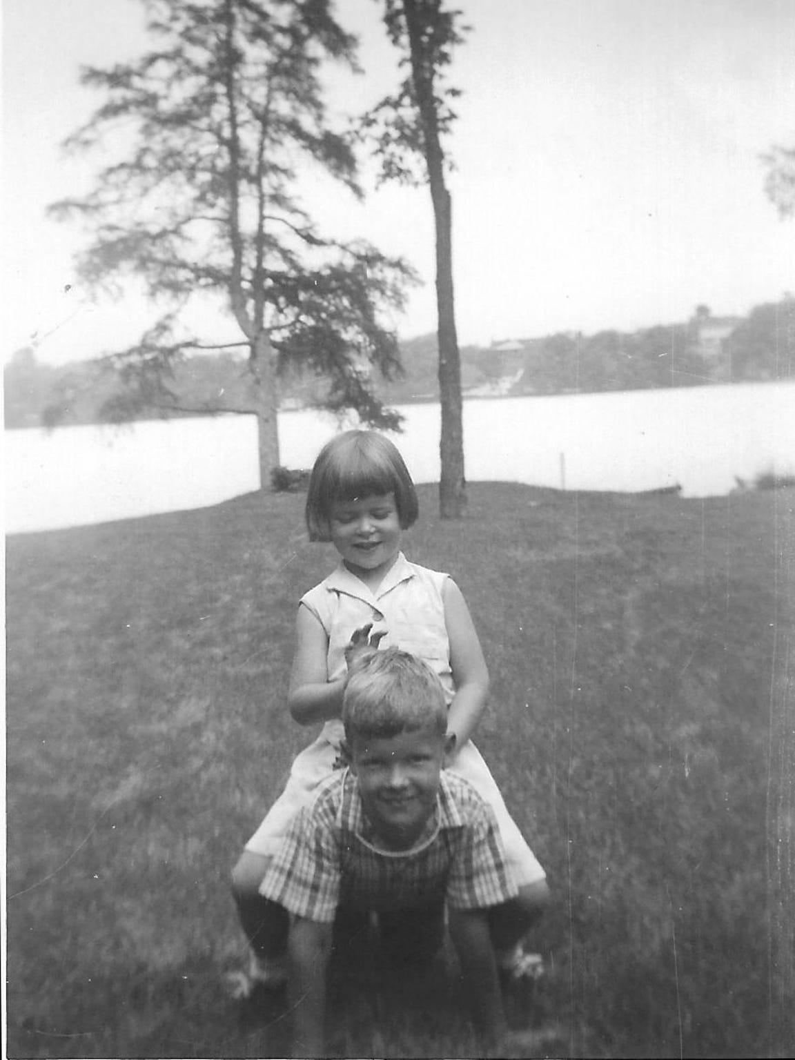 In happier times: A childhood photo of Nancy Henderson