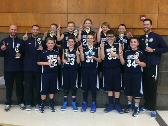 Chambersburg's 6th grade boys travel basketball team