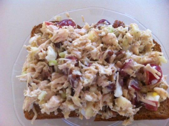 E-Z Nutty Chicken Salad