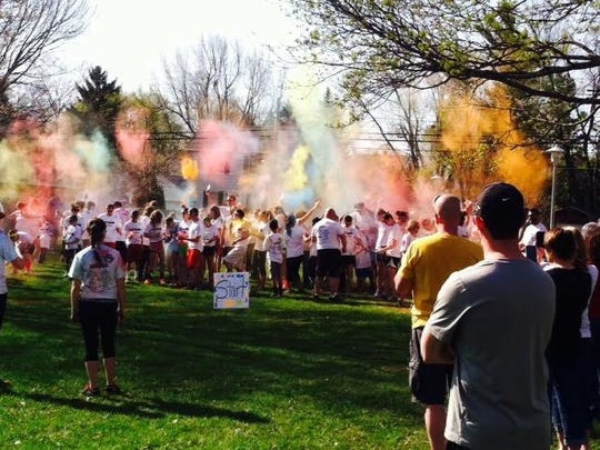 The 3rd annual Autism Color Walk/Run will be April 22 at Shelby Middle School.