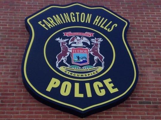 Farmington Hills police crest