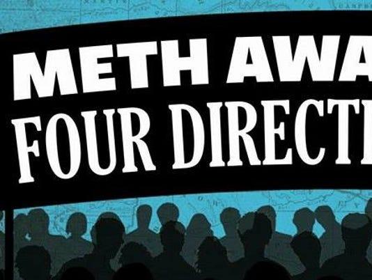 Meth Awareness Four Directions Walk