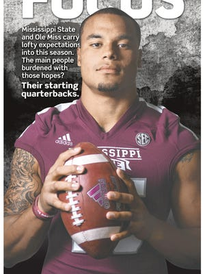 Cover of The Clarion-Ledger's 2014 college football preview guide