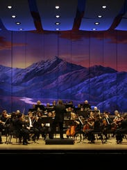 The El Paso Symphony Orchestra is led by conductor