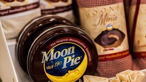 "Mobilians consume more than 4 million Moon Pies — a Tennessee confection —  annually, as Moon Pies are the favored Mardi Gras ""throw"" on parade routes."