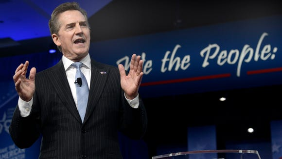 Jim DeMint speaks to the Conservative Political Action