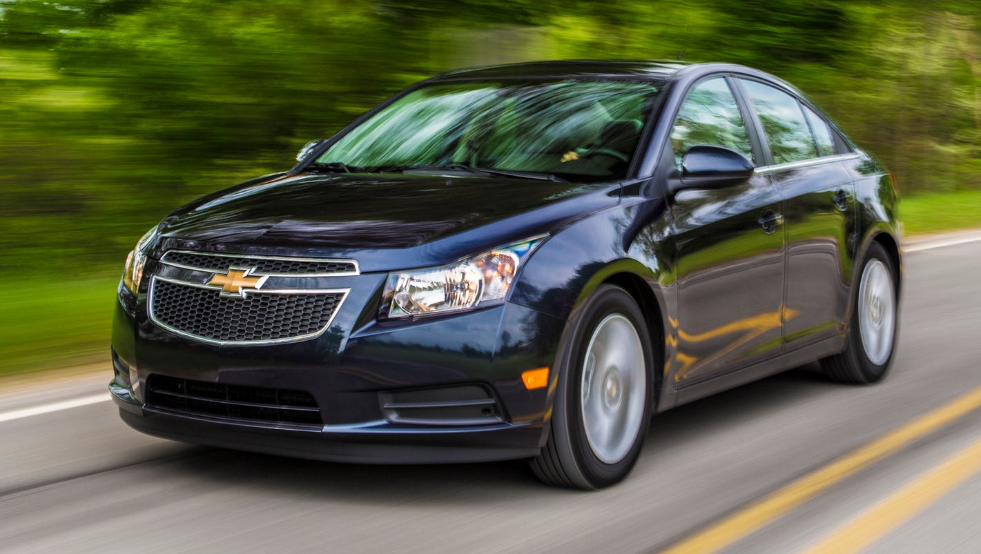 2013 Chevy Cruze >> GM stops Cruze sales for air bag issue, recall likely