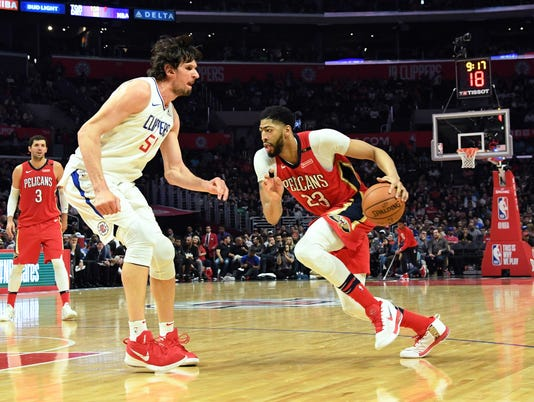 NBA: New Orleans Pelicans at Los Angeles Clippers