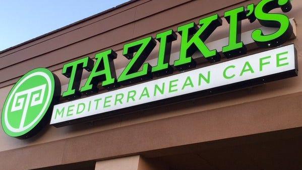 Taziki's Mediterranean Cafe, a 54-restaurant chain of Greek restaurants.