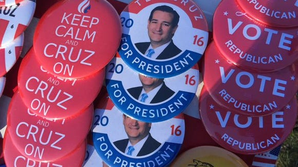 Photo coverage from the Ted Cruz rally in Rochester, NY on April 15, 2016.