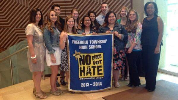 Students and staff attended an awards ceremony on May 21, 2014 at NYU's Skirball Center for the Performing Arts. The school was presented with a banner to display at their school.