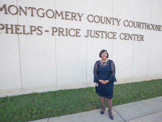 LaShandra Warren, the first black female court administrator