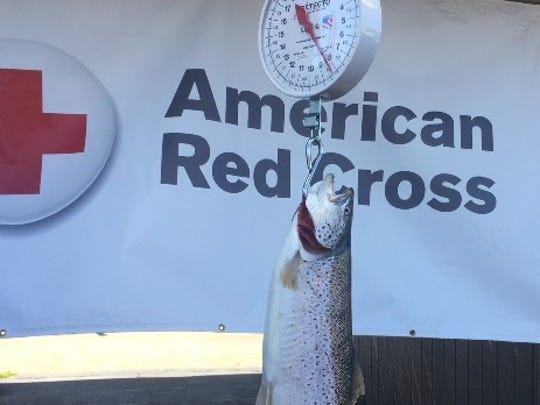 Bank of America Casting for Caring sport fishing tournament raises money for Red Cross, thanks to generosity of area businesses, charter captains, and Rochester Yacht Club.