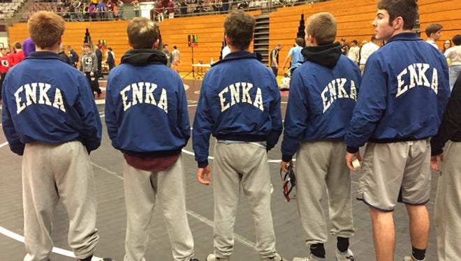 Enka will host its annual dual team wrestling tournament on Saturday in Candler.