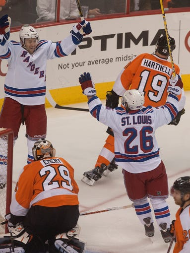 Philadelphia Flyers vs New York Rangers