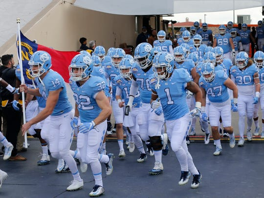 The University of North Carolina Tar Heels on Friday charge into Sun Bowl Stadium to take on the Stanford Cardinal.