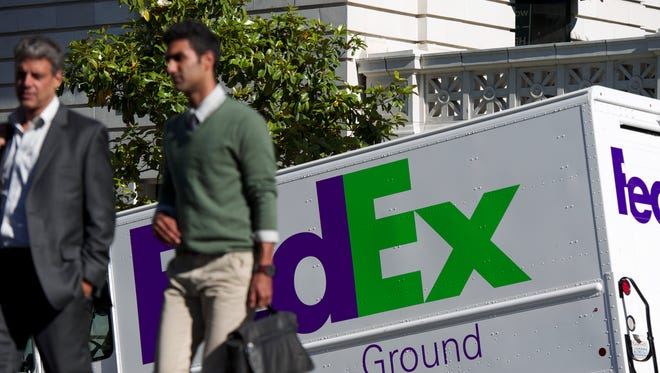FedEx said it expects to move 380 million to 400 million packages between Black Friday and Christmas Eve 2017.