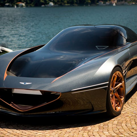 4 hot new supercars will rock Pebble Beach -- and could jar Tesla as well