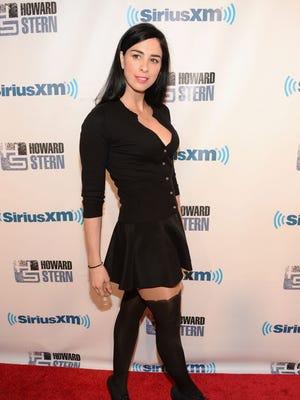"Sarah Silverman attends ""Howard Stern's Birthday Bash"" at Hammerstein Ballroom on Jan. 31, 2014 in New York City."