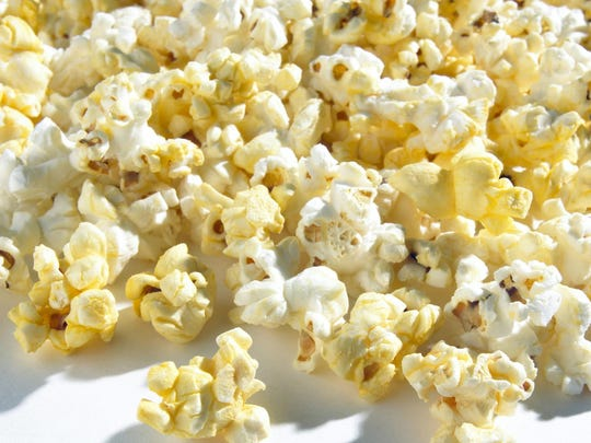 Pocpcorn is often loaded with butter and salt.