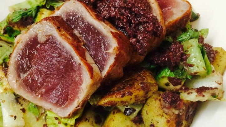 Chef's Corner: Prosciutto-wrapped tuna packs a punch