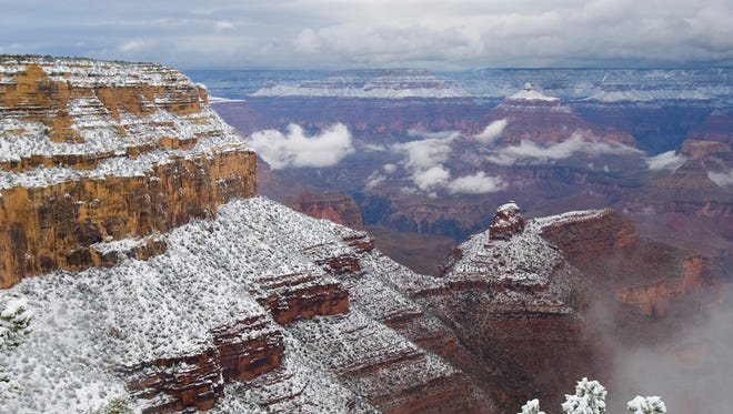 Seniors can visit the Grand Canyon and other national parks for free on an America the Beautiful Senior Pass.