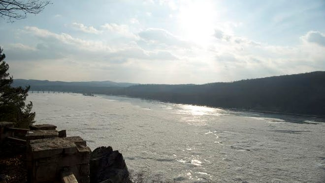 The view of the Susquehanna from Chickies Rock,