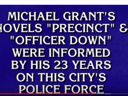 "A clue on ""Jeopardy!"" read: ""Michael Grant's novels"