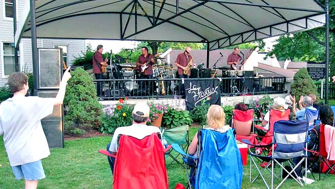 Doylestown will continue with its annual summer concert series while following social distancing guidelines and limiting individual groups in attendance to 10 people or less. The Massillon area band Laflavour, a regular in the concert series, will not be performing this year.