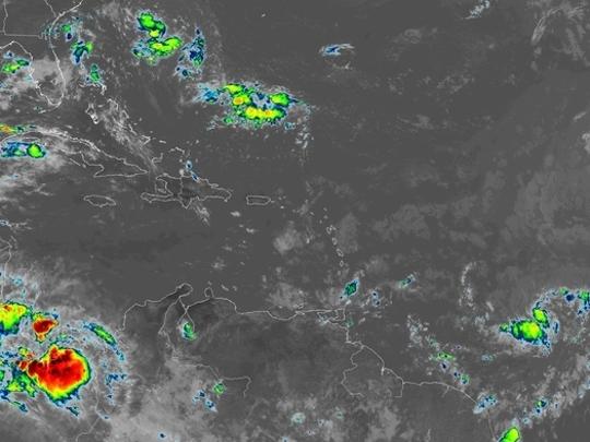 Hurricane Beryl 11 a.m. July 6, 2018.