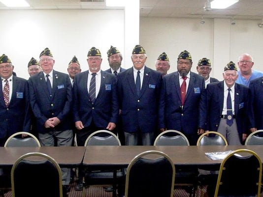 american legion officers