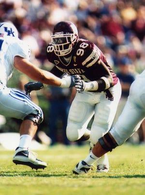 Former Mississippi State Bulldog Mario Haggan was named an SEC Legend.