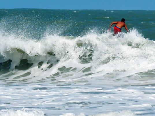 Surfing the waves of Hurricane Maria