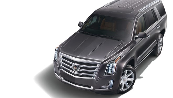 Next-generation Cadillac cars will be named CT plus a digit, while SUVs will be XT plus a digit. The iconic 2015 Cadillac Escalade (pictured) will be an exception.