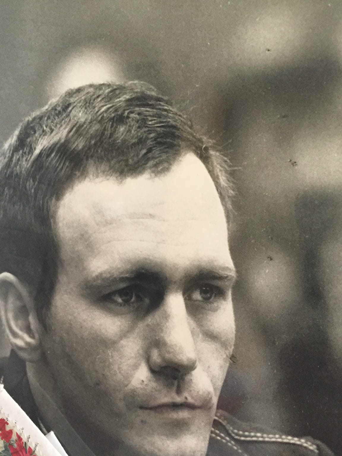 Gary Bennett during his two-day 1984 capital murder
